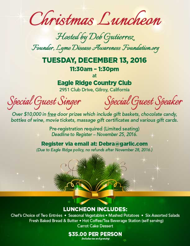 christmas luncheon at eagle ridge country club gilroy ca lyme